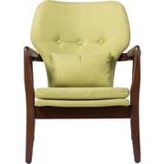 Wholesale Interiors Baxton Studio Garrett Tufted Arm Chair; Green