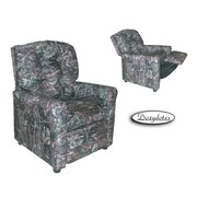 Dozy Dotes 4 Button Kid's Camo Recliner; Camouflage True Timber Conceal