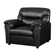 Glory Furniture Tanner Arm Chair; Black