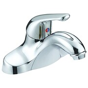 Aqua Plumb Single Handle Single Hole Standard Bathroom Faucet with Drain Assembly