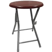 Wee's Beyond Folding Stool; Cherry