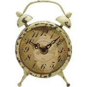 American Mercantile Metal Magnet Clock; Gray