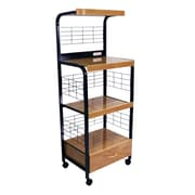ORE Furniture Microwave Cart w/ Birch Top