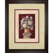 ClassyArtWholesalers Traditional Red II by Vivian Flasch Framed Painting Print
