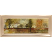 ClassyArtWholesalers Tree Shadows II Douglas and Mossy Oak Nativ Living Framed Painting Print