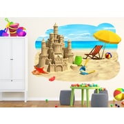 Wall-Ah! Sand Castle Wall Decal