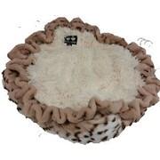 BessieBarnie Dog Bed in a Blanket; 36'' L x 36'' W