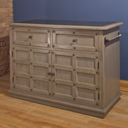 Hillsdale Camargo Kitchen Island with Granite Top