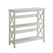 "Convenience Concepts Inc. Oxford 3 Tier 32.5"" Bookcase White (203030W)"