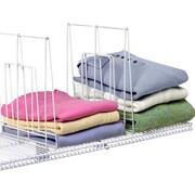 Spectrum Diversified Closet Organization Ventilated 1 Pack Shelf Divider