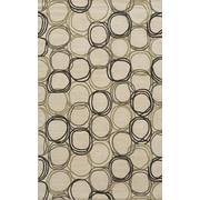 Momeni Elements Ivory Area Rug; 5' x 8'