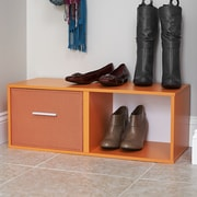 Household Essentials 2-Compartment Shoe Rack