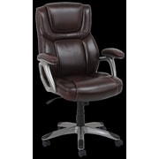 Barcalounger High-Back Office Chair with Arms; Burgundy