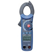 REED Instruments AC/DC Clamp Meter with Temperature and Non-Contact Voltage Detector, 500A, True RMS (R5030)