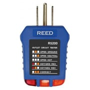 REED Instruments Receptacle Circuit Tester (R5200)