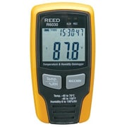 REED Instruments Temperature/Humidity Datalogger with Display,  -40 to 158degree f (R6030)