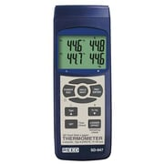 REED Instruments SD-Series Thermocouple Thermometer Datalogger, 4 Channel (SD-947)