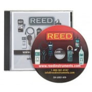 REED Instruments Data Acquisition Software, unlimited license, Windows x P,Vista,7, Disk (SW-U801-WIN)
