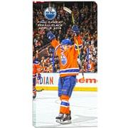 Frameworth – Connor McDavid, toile de la LNH, Oilers d'Edmonton, dernier match à la Place Rexall, 14 x 28 po