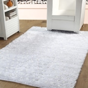 Affinity Linens Hand-Woven White Indoor Area Rug; 3' x 5'