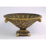 AA Importing Leaf Decorative Bowl