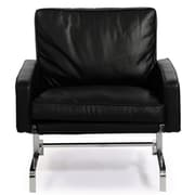 Kardiel Modern Arm Chair; Black