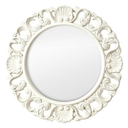 Selections by Chaumont Casa Vintage Ornate Circular Mirror