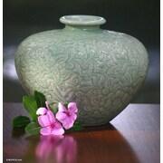 Novica Kanda Beauty Handmade Ceramic Vase