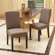 Home Loft Concepts Liberty Parsons Dining Chair (Set of 2); Taupe