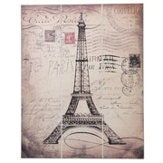 Boston Warehouse Trading Corp 'Eiffel Tower' Graphic Art