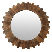 Novica Fair Trade Hand Crafted Round Wall Mirror