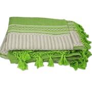 Novica Carmen Ruiz Zapotec Hand-Woven Cotton Bedspread