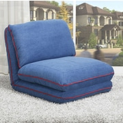 Gold Sparrow Irvine Convertible Chair Bed; Royal Blue