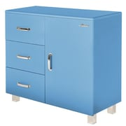 Phoenix Group AG Miami 1 Door and 3 Drawer Cabinet; Blue