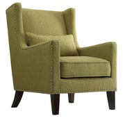 Kingstown Home Jeannette Wingback Arm Chair; Chartreuse