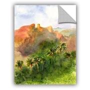 ArtWall Arizona Palms Wall Mural; 18'' H x 14'' W x 0.1'' D
