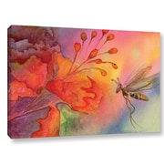 ArtWall 'Arizona Fairy' by Amy Kirkpatrick Graphic Art on Wrapped Canvas; 12'' H x 18'' W x 2'' D
