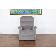 Madison Home USA Classic Plush Power Large Infinite Position Lift Chair; Gray
