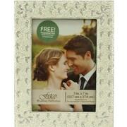 Fetco Home Decor Wedding Doraine Glitter Surround Picture Frame
