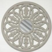 Fetco Home Decor Dunfey Medallion Mirror