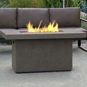 Real Flame Ventura Concrete Propane Fire Pit Table; Glacier Gray