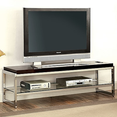 EnitialLab Malley TV Stand; Chrome