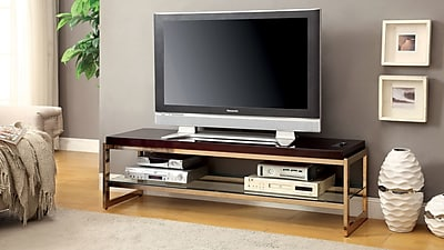 EnitialLab Malley TV Stand; Gold