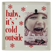 Fetco Home Decor Baby, It's Cold Outside Picture Frame