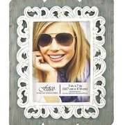 Fetco Home Decor Betty Carved Painted Picture Frame