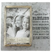 Fetco Home Decor Avidar Happy Families Picture Frame