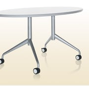 KI Furniture Trek 36'' x 72'' Training Table Top; Gray