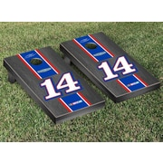 Victory Tailgate NASCAR Tony Stewart #14 Mobil Onyx Stained Stripe Version Cornhole Game Set