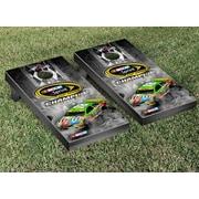 Victory Tailgate NASCAR #18 Kyle Busch Pit Row Champion 2015 Version Cornhole Game Set