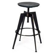 Aeon Furniture Euro Home Adjustable Height Swivel Bar Stool